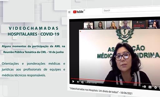 Médicos e advogados apontam necessidade de regulamentação para as videochamadas em hospitais de Londrina