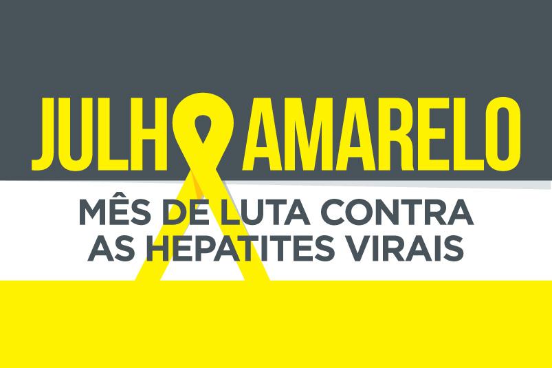 Julho Amarelo conscientiza sobre as hepatites virais e alerta para prevenção com vacinação