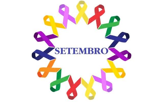 As cores de setembro nas campanhas de prevenção, conscientização e cuidados com a saúde